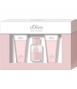 Aktion - s.Oliver So Pure Women Geschenkset (EdT30/SG75/BL75)