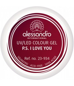 Alessandro Colour Gel 934 PS I Love You 5 g