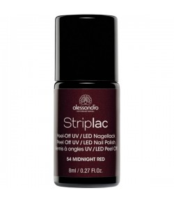 Alessandro Striplac 54 Midnight Red 8 ml