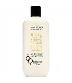Alyssa Ashley Musk Bath & Shower Gel 500 ml