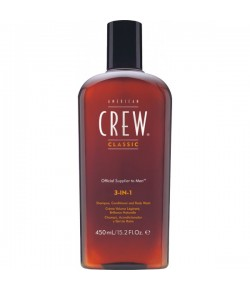 American Crew 3 in 1 Shampoo, Conditioner & Body Wash