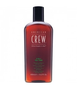 American Crew 3 in 1 Tea Tree 450 ml