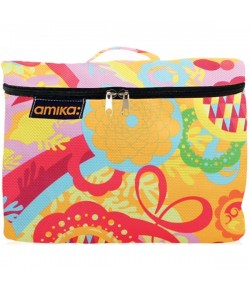 Amika Handle Top Cosmetic Case