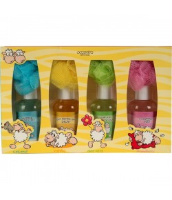 Badeset Happy Sheep 8-teilig 4 x 180 ml