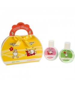 Badeset Happy Sheep in Geschenkbox