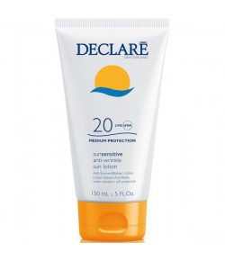 Declare Sun Sensitive Anti-Wrinkle Sun Lotion SPF 20 150 ml