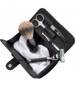 Erbe Shaving Shop Herren-Reise-Set