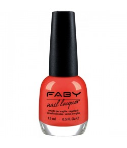 Faby Nagellack Classic Collection Lucky Coral 15 ml