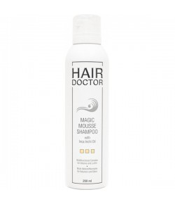 Hair Doctor Magic Mousse Shampoo With Inca Inchi Oil 200 ml