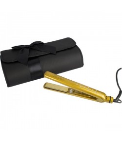 Hair Goddess Limited Edition Gold Diamond Styler + edle Reisetasche