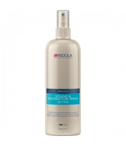 Indola Style Setting Volume & Restructure Spray 300 ml