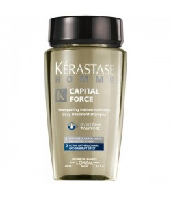 K�rastase Homme Capital Force Bain Anti Pelliculaire 250 ml