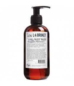 L:A Bruket No.104 Liquid Soap Bergamot/Patchouli 250 ml