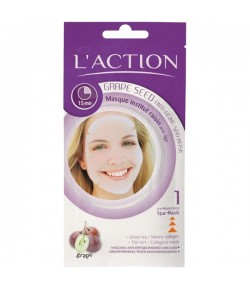 LAction Grape Seed Anti-Aging Spa Mask