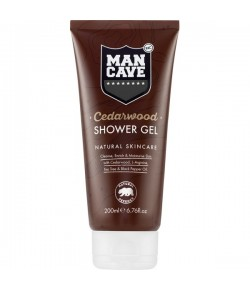 Man Cave Cedarwood Shower Gel 200 ml