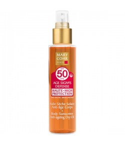 Mary Cohr Body Sunscreen Dry Oil SPF 50 150 ml