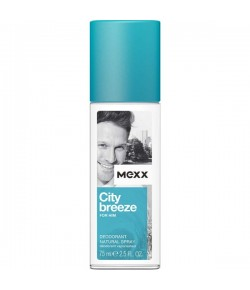 Mexx City Breeze For Him Deodorant Natural Spray 75 ml