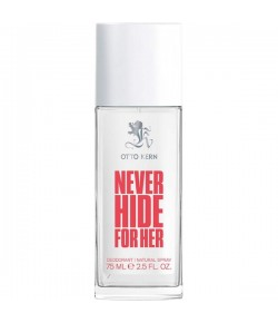 Otto Kern Never Hide for Her Deodorant Spray 75 ml