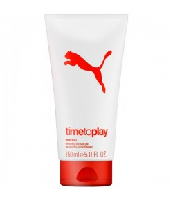 Puma Time To Play Woman Shower Gel 150 ml