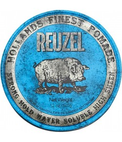 Reuzel Haarstyling Blue Str. Hold Water Soluble Pomade