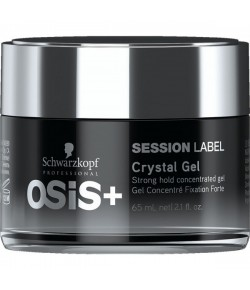 Schwarzkopf Osis Session Label Crystal Gel 65 ml