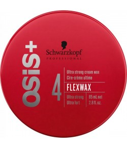 Schwarzkopf Osis Texture Flexwax Ultra Strong Cream Wax