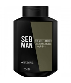 sebastian seb man the multitasker 3 in1 hair beard body wash. Black Bedroom Furniture Sets. Home Design Ideas
