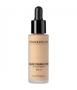 Stagecolor Liquid Foundation 2nd Skin Serum SPF 15 27,5 ml