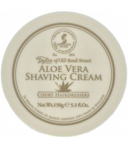 Taylor of Old Bond Street Aloe Vera Shaving Cream 150 g