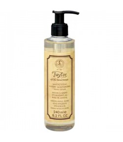 Taylor of Old Bond Street Sandalwood Luxury Moisturising Hand Wash 240 ml