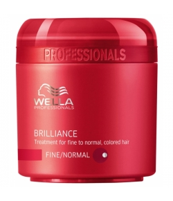 Wella Care³ Brilliance Mask (Feines/Normales/Coloriertes Haar)