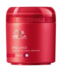 Wella Care³ Brilliance Mask (Kräftiges/Coloriertes Haar)