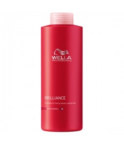 Wella Care³ Brilliance Shampoo 1000 ml (Feines/Normales/Coloriertes Haar)