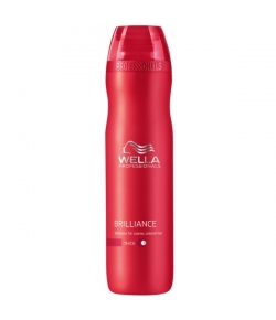 Wella Care³ Brilliance Shampoo 250 ml (Kräftiges/Coloriertes Haar)