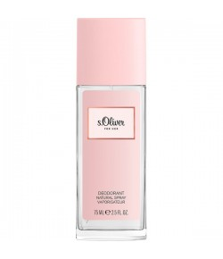 s.Oliver For Her Deodorant Natural Spray 75 ml