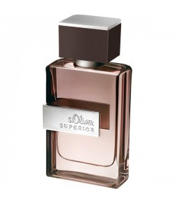 s.Oliver Superior Men Eau de Toilette EdT Natural Spray 50 ml