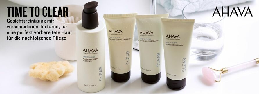 Ahava Gesichtspflege Time To Clear