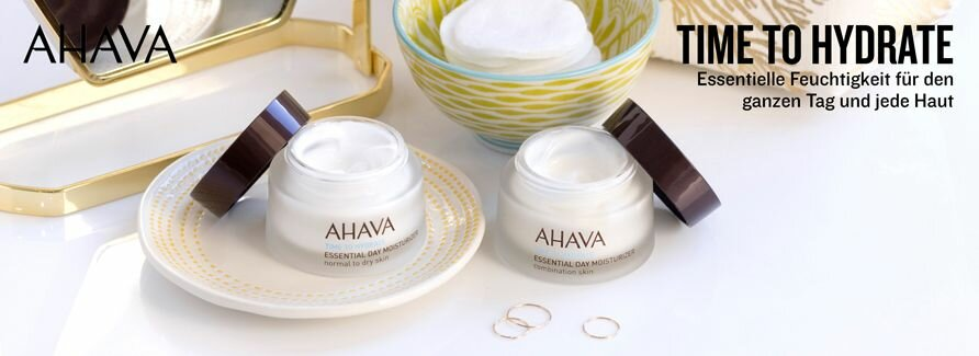 Ahava Gesichtspflege Time To Hydrate