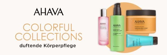 Ahava Körperpflege Colorful Collections