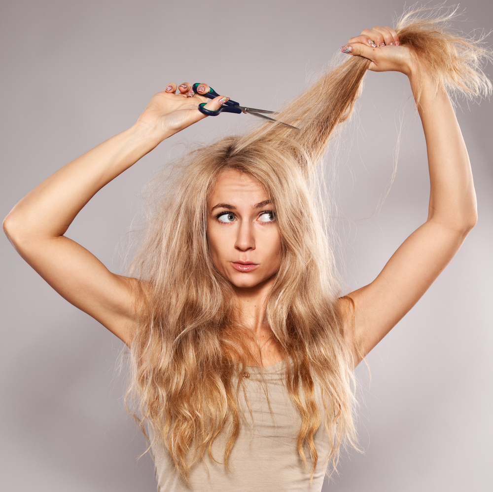 Haarpflege f�r blondes Haar