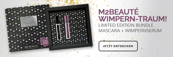 M2 Beauté Limited Edition Bundle Wimpernserum + Mascara