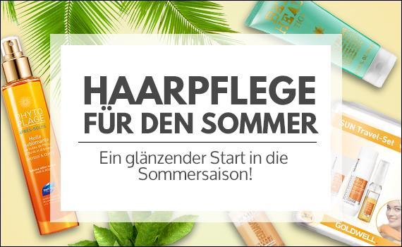 Haarpflegeprodukte für den Sommer - Sonnenschutz